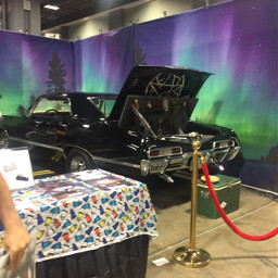 awesomecon supernatural impala comicon