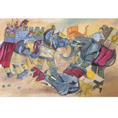 oilpainting oilpaint warrior war paintingeffect