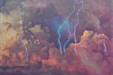 freetoedit clouds thunderstorm sparkling edit