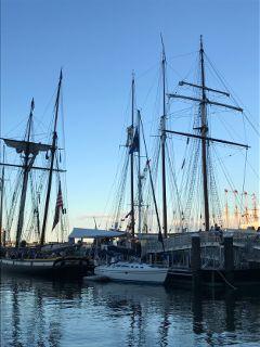 ships goldenhour freetoedit