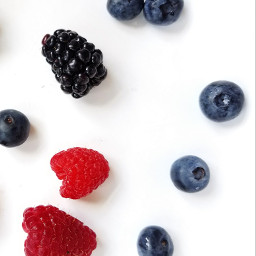 freetoedit food berries blueberries raspberries
