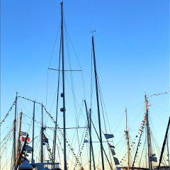masts ships flags goldenhour lookup freetoedit