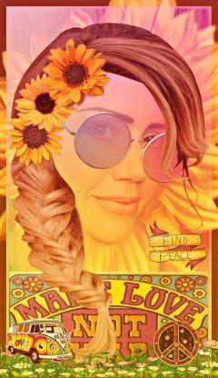 creativeselfie freetoedit hippiechick bohemian psychedlic