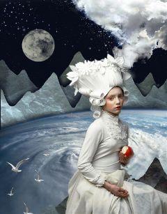 surreal collage mysticker popart freetoedit