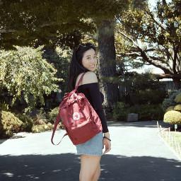 freetoedit fjallraven kanken backpack garden