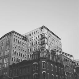 freetoedit blackandwhite buildings architecture sky