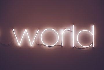 world neon board freetoedit
