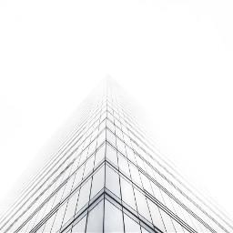 minimal white building architexture design freetoedit