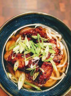 udon foodporn foodie soup teriyaki