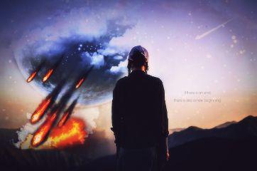 remix meteor newbeginning end theend freetoedit