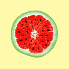 watermelon orange freetoedit