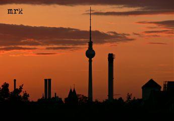 freetoedit city berlin sundown