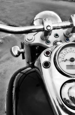 motorbike blackandwhite photography