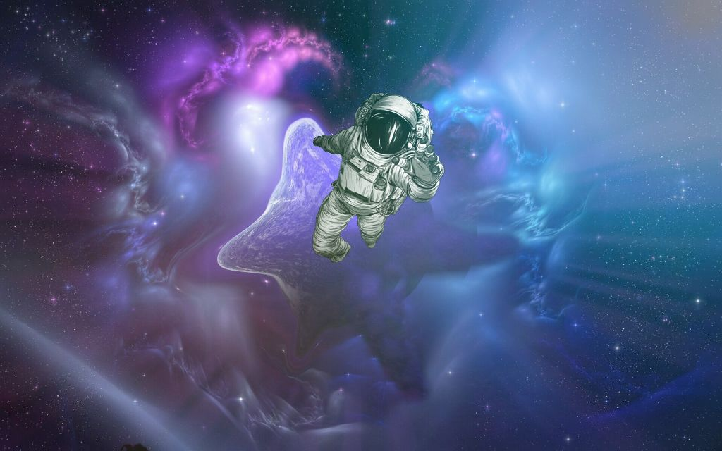 #astronaut #cool #space #galaxy #purple #help