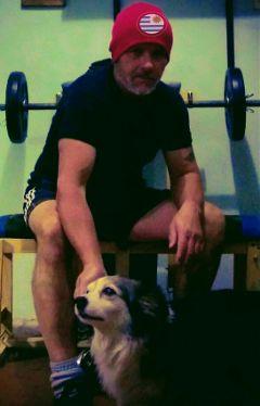 pesas ejercicio dog company friends