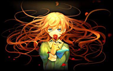 ib mary run anime animegirl