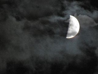 photography moon sky clouds emotions freetoedit