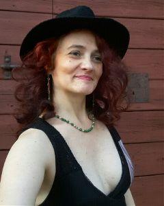 me selfportrait hat redhair curlyhair