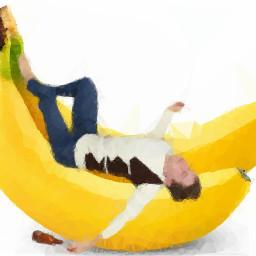 men banana borred freetoedit