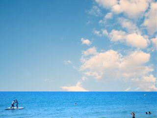 freetoedit sky clouds blue beachday