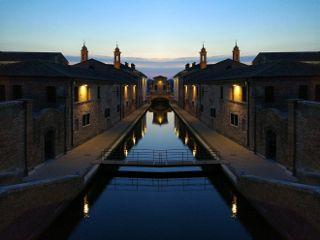 nightphotography mirroreffect dusk
