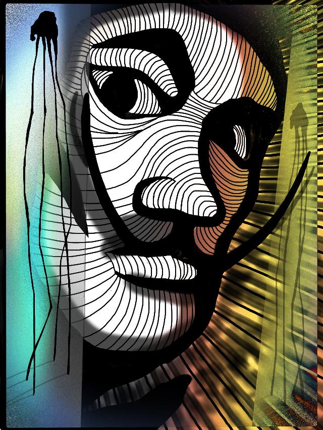 Dali  #smashups #freetoedit #drawing