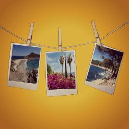 freetoedit holiday polaroid