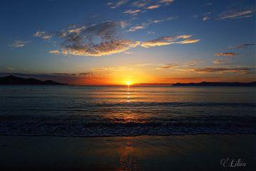 freetoedit landscape sea horizon sunset
