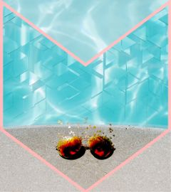 glasses pool poolparty freetoedit