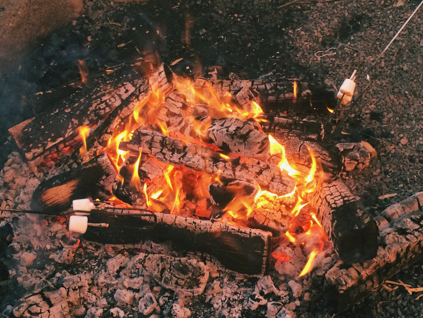 campfire #freetoedit #dpcthecolororange