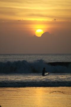 nature sunsetbeach bali