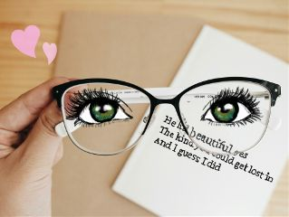 freetoedit eyes glasses quote heart