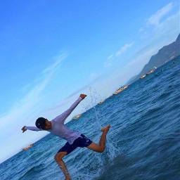 freetoedit beachselfie