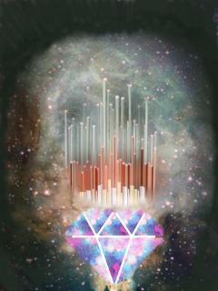 diamondgalaxystickerremix freetoedit