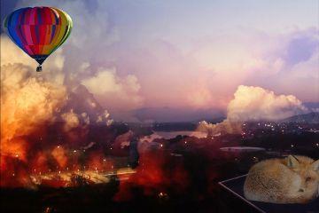 freetoedit myedit balloon animal cloudsremix