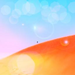freetoedit свет пустыня жара