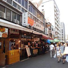 tsukiji tsukijimarket fishmarket street tokyo freetoedit