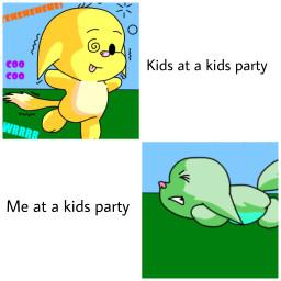 meme kacheek kidsparty thissucks spicymemes