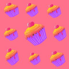 background wallpaper cupcakes madewithpicsart ftebirthday