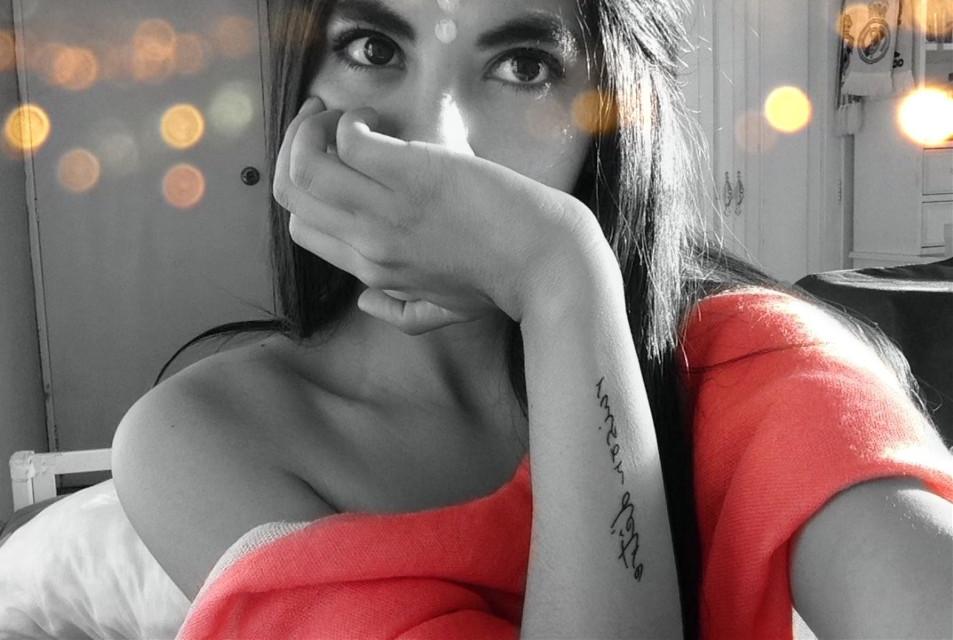 Instagram: gaby_villacres • •  #freetoedit #interesting #photography #people #lights #selfportrait #selfmade #newedit #picsart #picoftheday #picsartlife #picsartist #picsartvip #picsartphoto #blackandwhite #girl #younggirl #pink #tattoo #ink