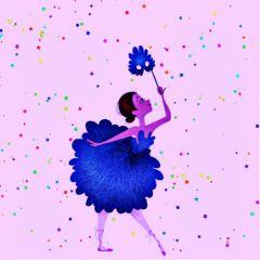 freetoedit confetti dancer starduststickerremix