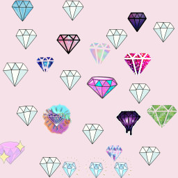 diamonds💎 likeforyoursticker!❤!!! freetoedit diamonds likeforyoursticker