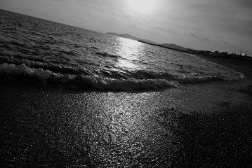 blackandwhite thebeautyinnature nature beach emotions