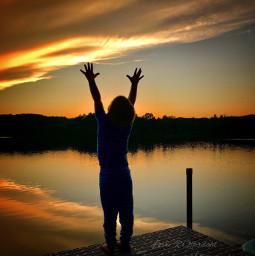 fearless moving joy innocent sunset pcsunset pchandsintheair