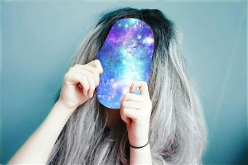 freetoedit noface space girl