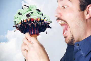 freetoedit eating icecream🍦 surreality icecream