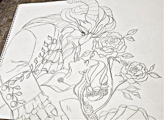 mydrawing sketch linedrawing mysketchbook disney