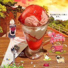 icecream strawberry sweet dessert yummy freetoedit