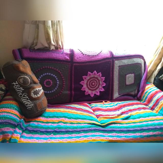 #crochet #SeptemberMorning #blanket #JulieYeager