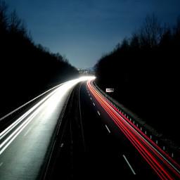 night light traffic longexposure smartphone